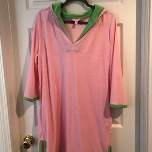 Lilly Pulitzer terry coverup